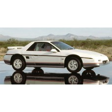 Pontiac Fiero 1984 to 1988 Service Workshop Repair manual